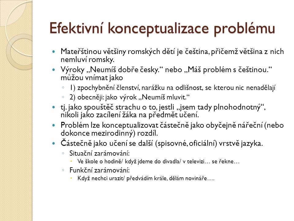 Efektivní konceptualizace problému