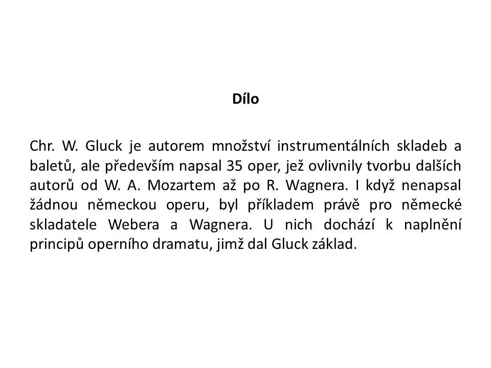 Dílo Chr. W.