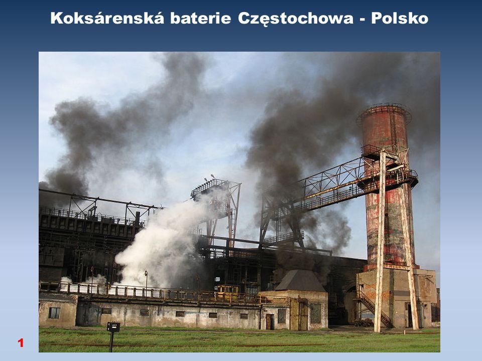 Koksárenská baterie Częstochowa - Polsko