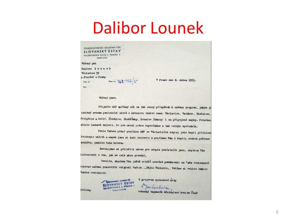 Dalibor Lounek