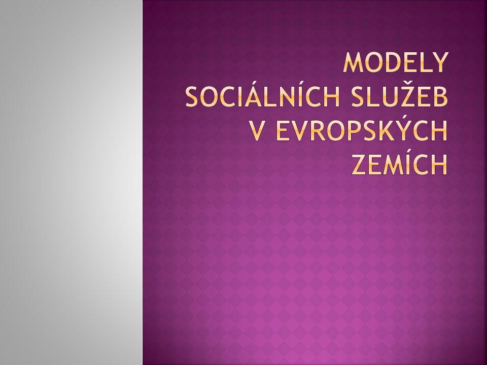 Modely Sociálních služeb v evropských zemích