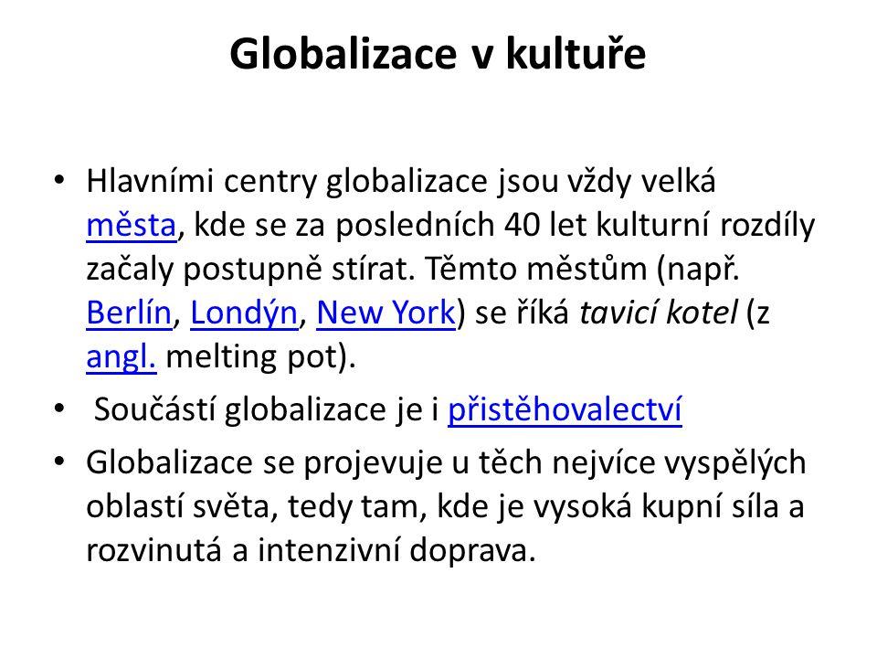 Globalizace v kultuře