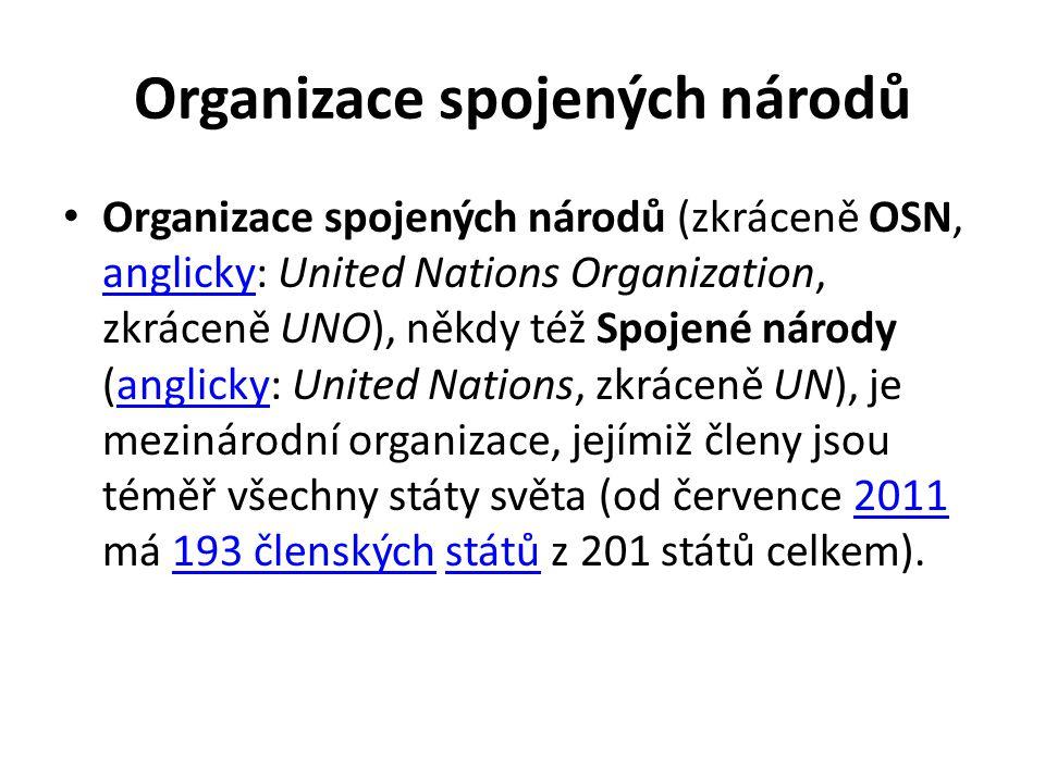 Organizace spojených národů