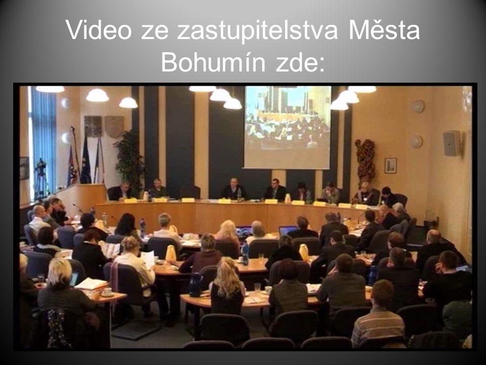 Video ze zastupitelstva Města Bohumín zde: