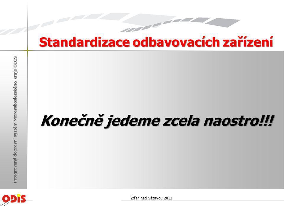 Standardizace odbavovacích zařízení Konečně jedeme zcela naostro!!!