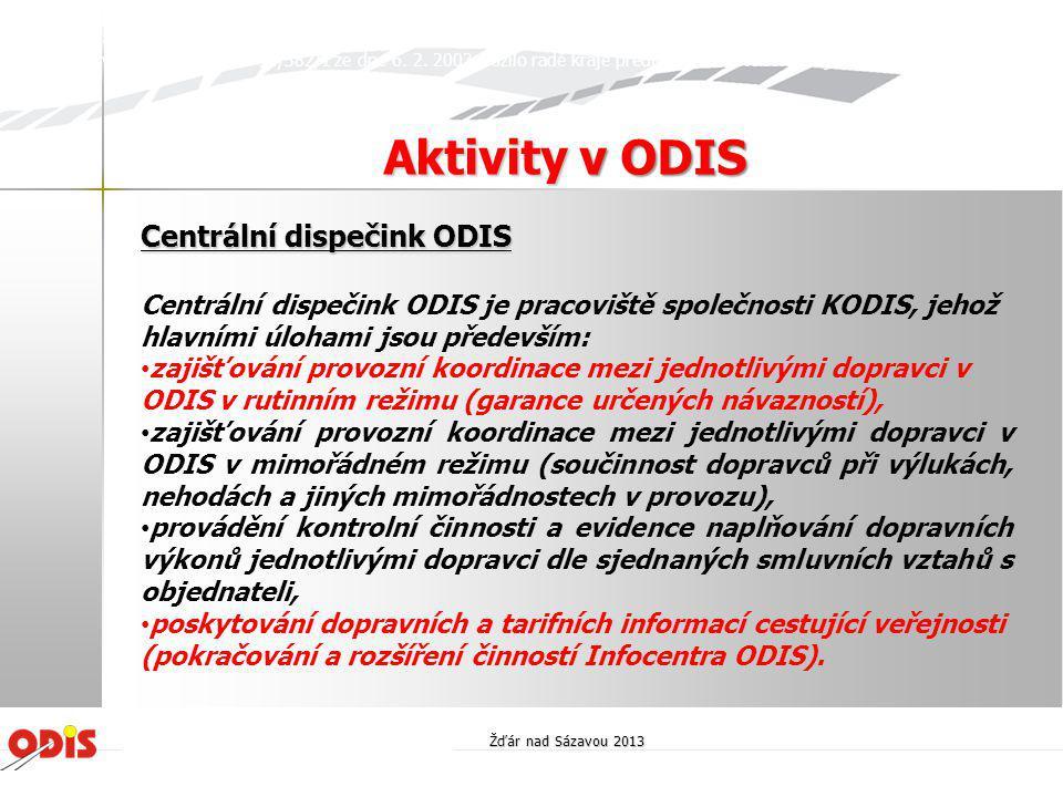 Centrální dispečink ODIS
