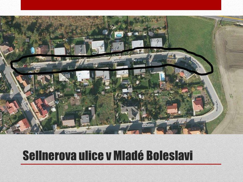 Sellnerova ulice v Mladé Boleslavi