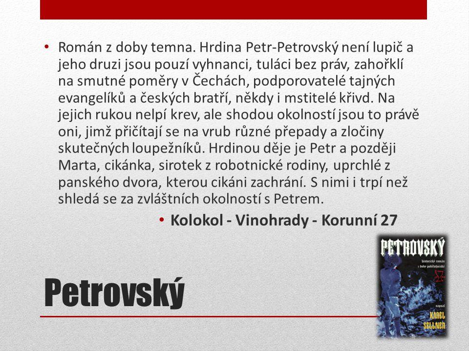 Petrovský Kolokol - Vinohrady - Korunní 27