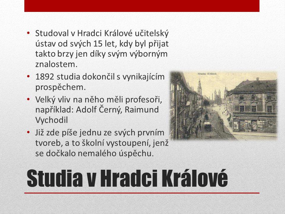 Studia v Hradci Králové