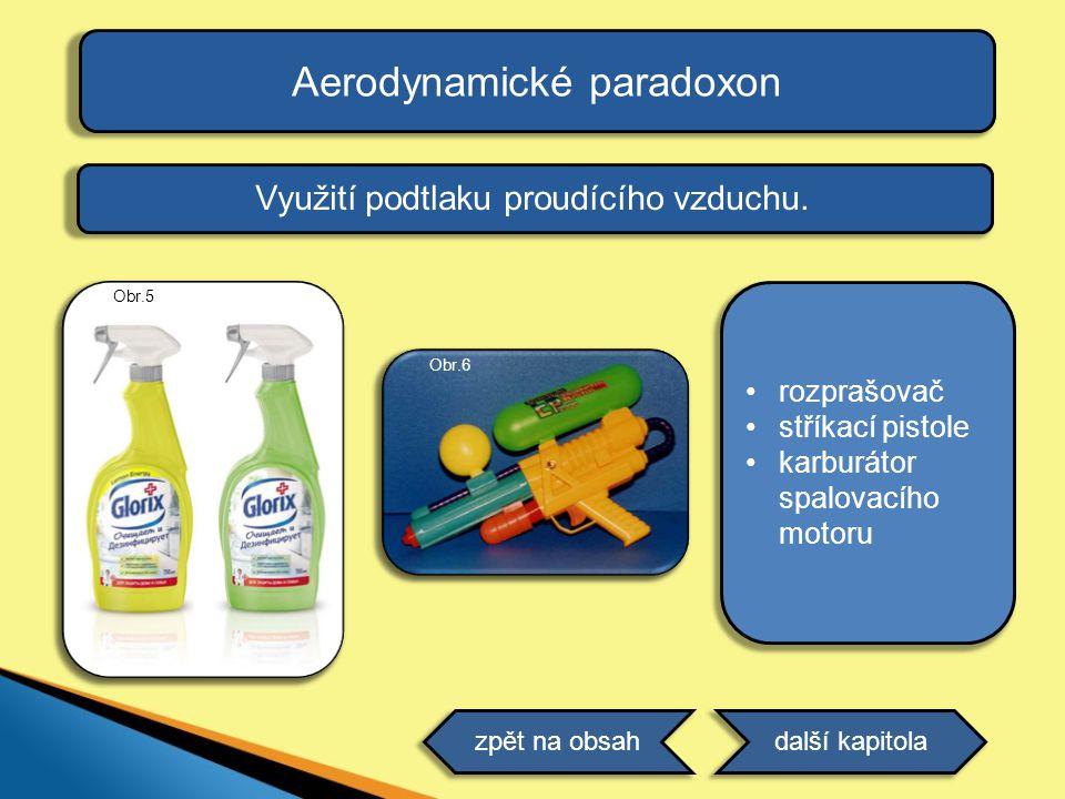 Aerodynamické paradoxon
