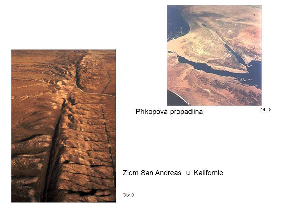 Zlom San Andreas u Kalifornie