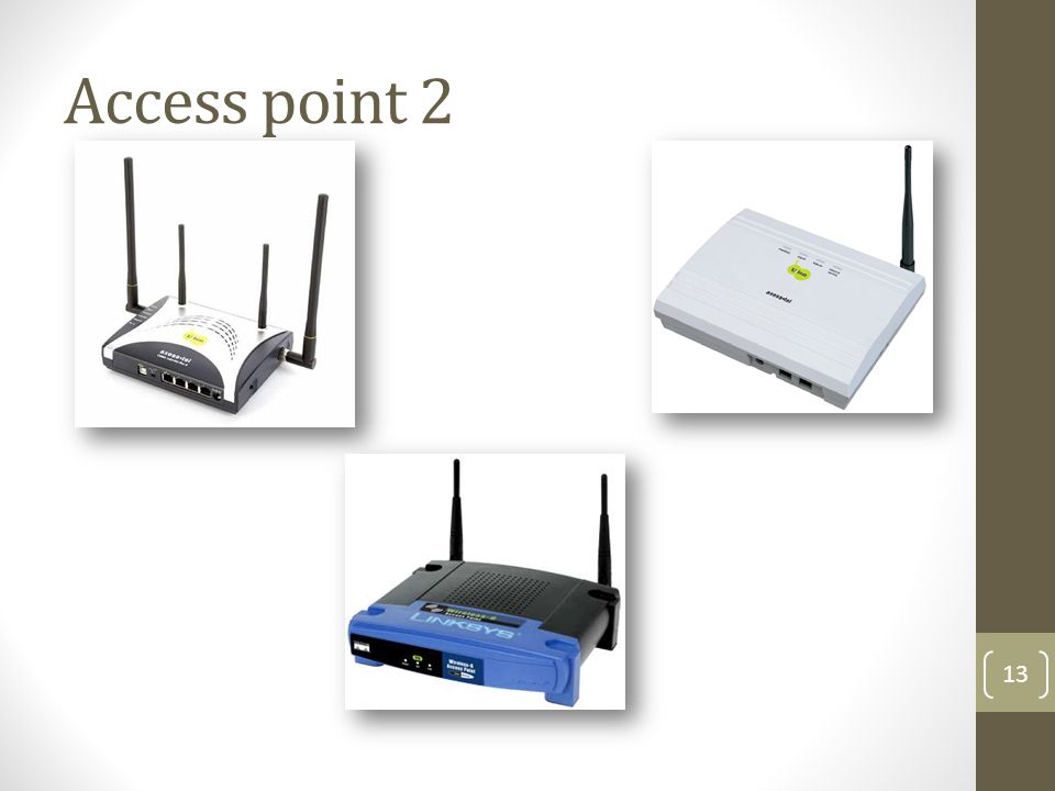 Access point 2