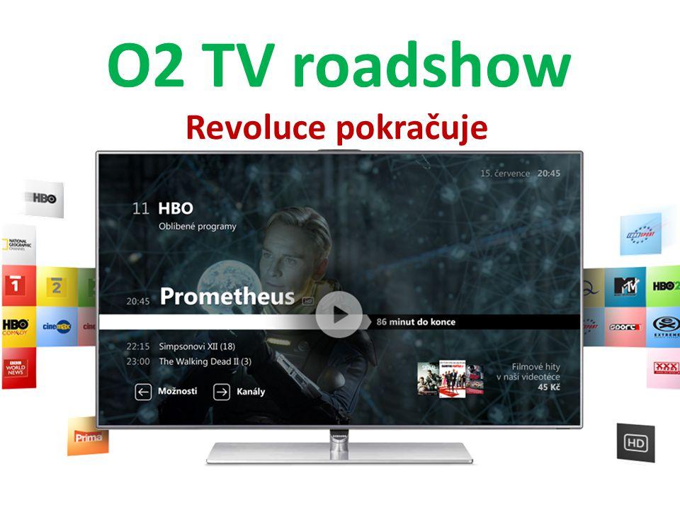 O2 TV roadshow Revoluce pokračuje