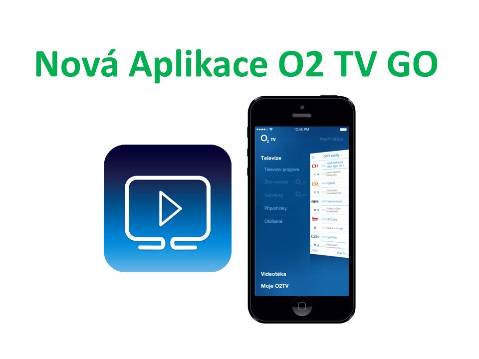 Nová Aplikace O2 TV GO
