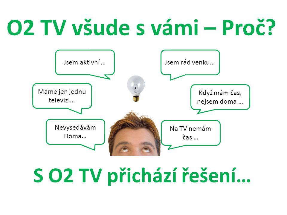 Máme jen jednu televizi…