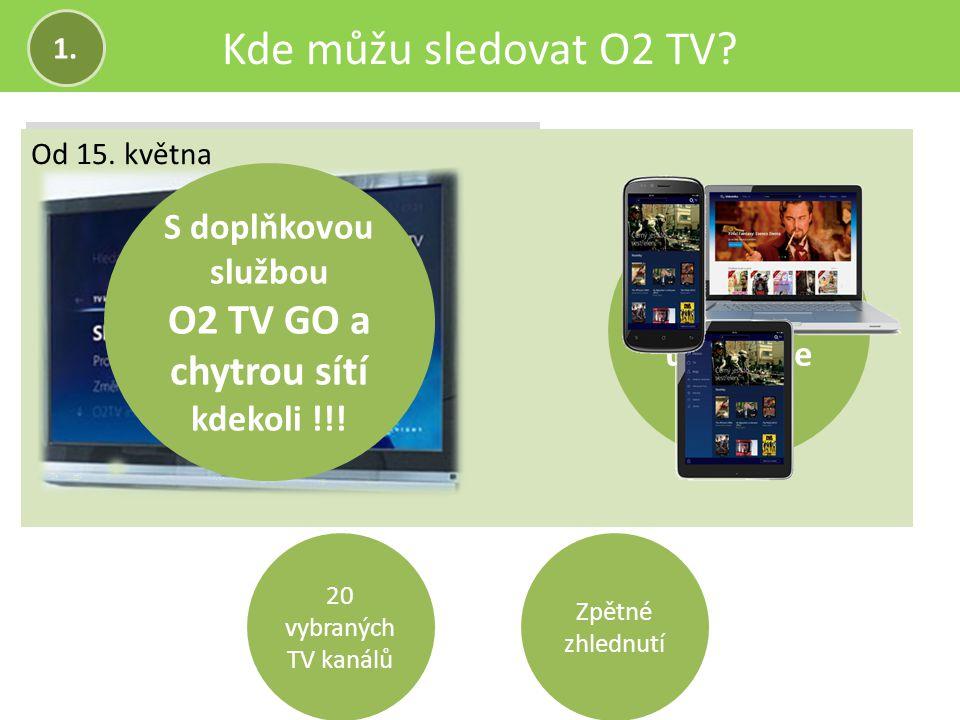 O2 TV GO a chytrou sítí kdekoli !!!