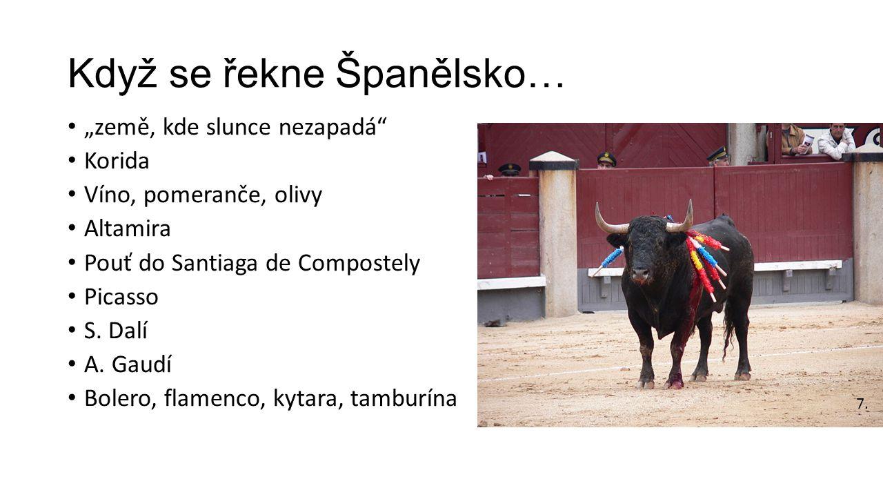 Když se řekne Španělsko…