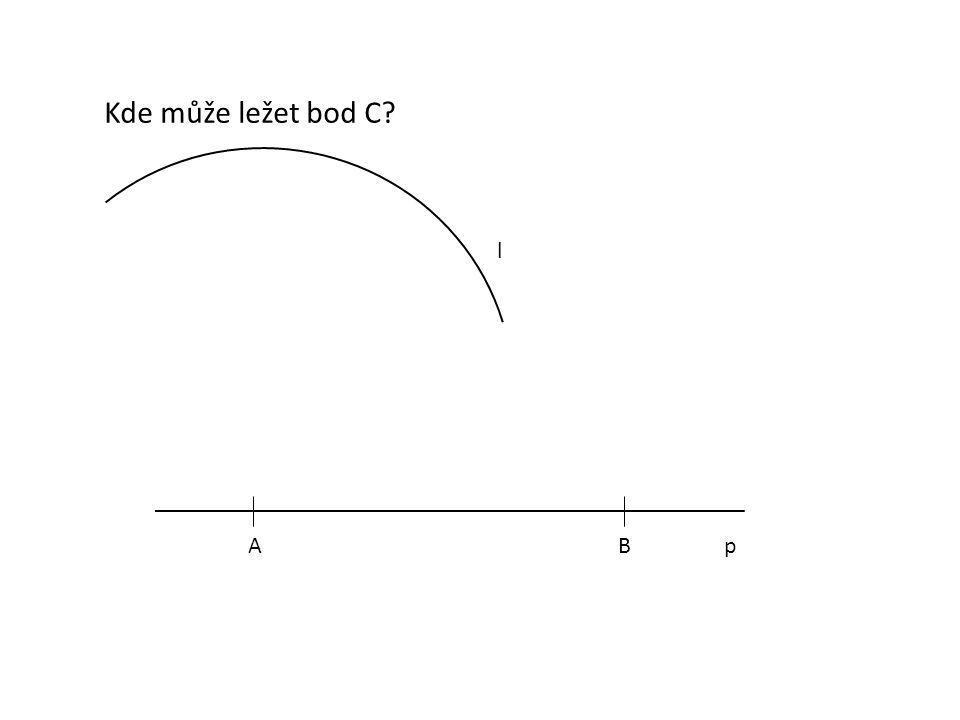 Kde může ležet bod C l A B p