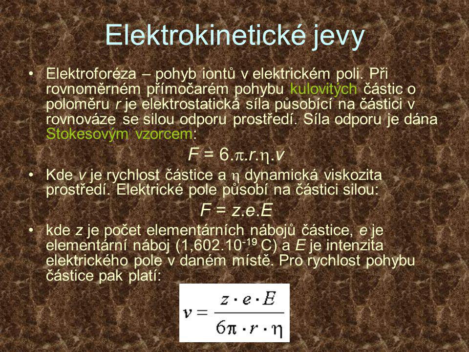 Elektrokinetické jevy