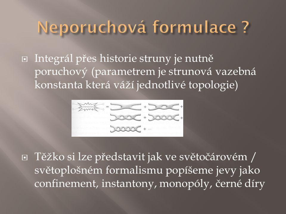 Neporuchová formulace