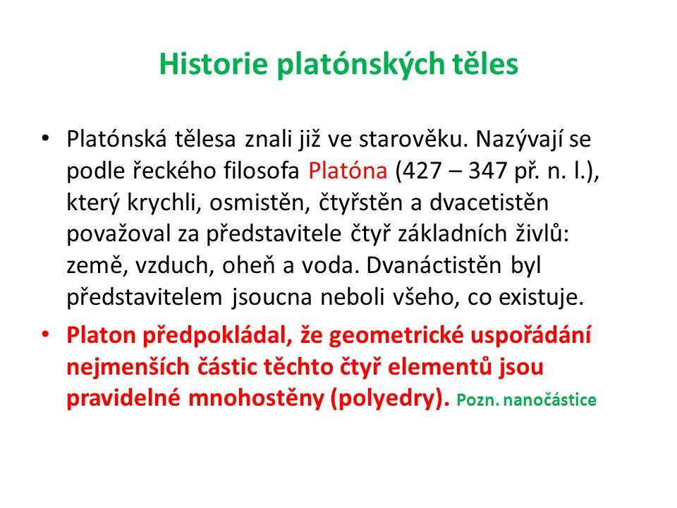 Historie platónských těles