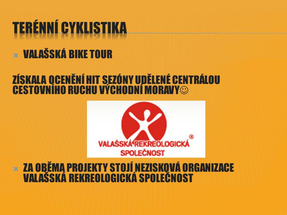 TERÉNNÍ CYKLISTIKA VALAŠSKÁ BIKE TOUR