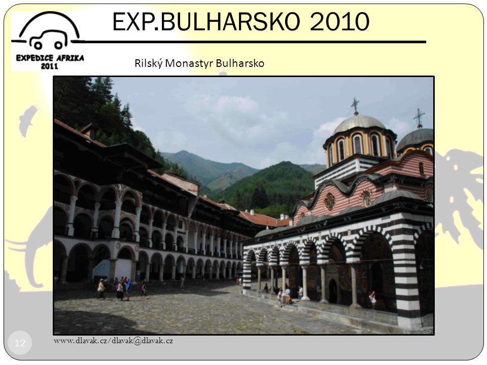 EXP.BULHARSKO 2010 Rilský Monastyr Bulharsko