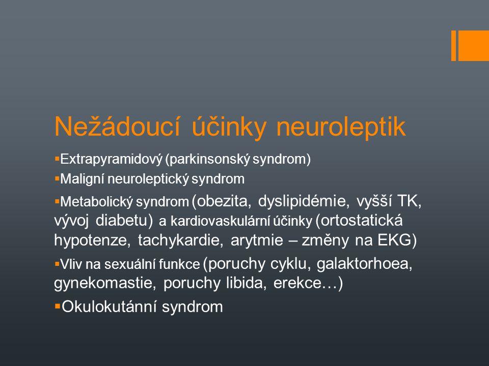 Nežádoucí účinky neuroleptik
