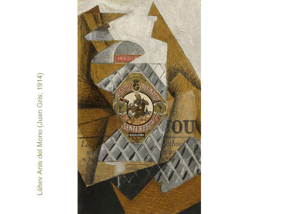 Láhev Anis del Mono (Juan Gris; 1914)
