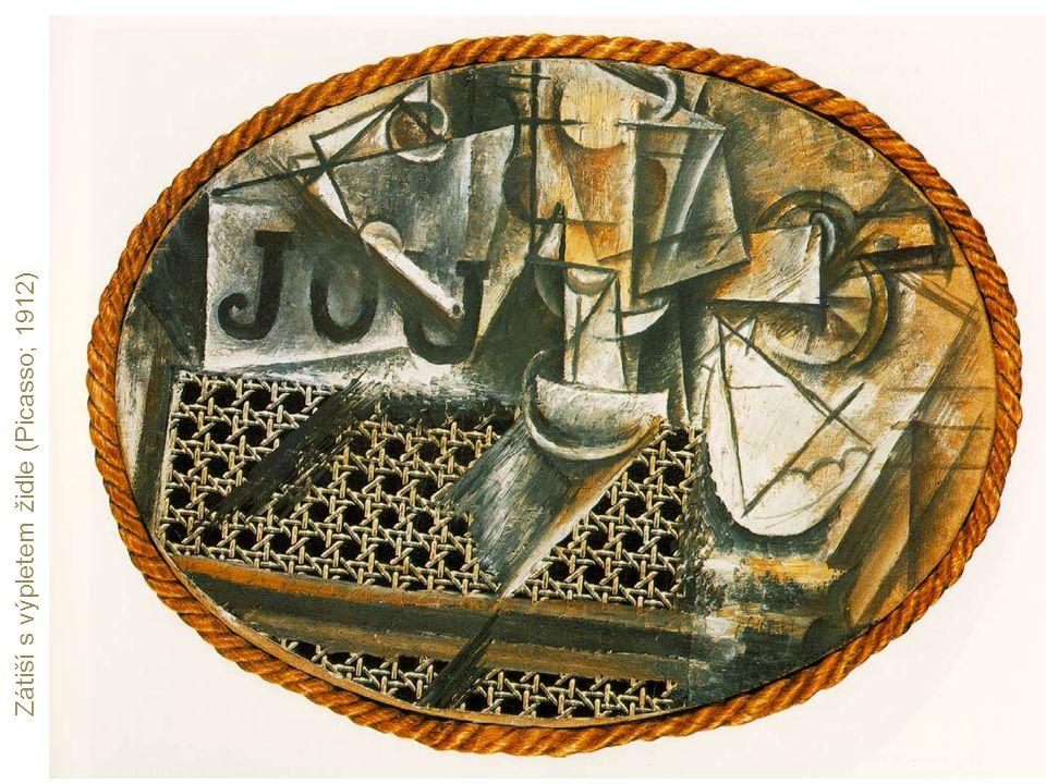 Zátiší s výpletem židle (Picasso; 1912)