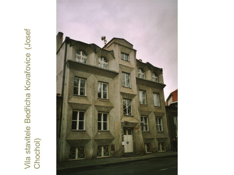 Vila stavitele Bedřicha Kovařovice (Josef Chochol)