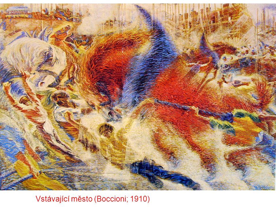 Vstávající město (Boccioni; 1910)