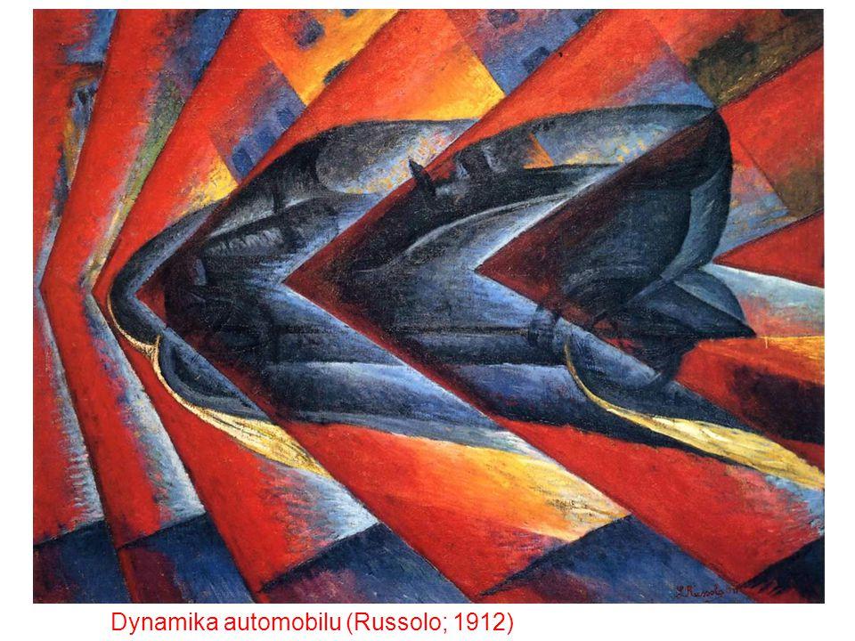 Dynamika automobilu (Russolo; 1912)