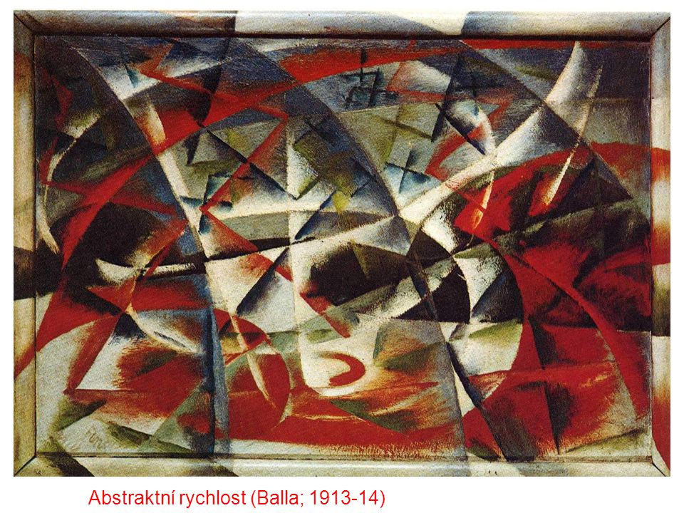 Abstraktní rychlost (Balla; 1913-14)