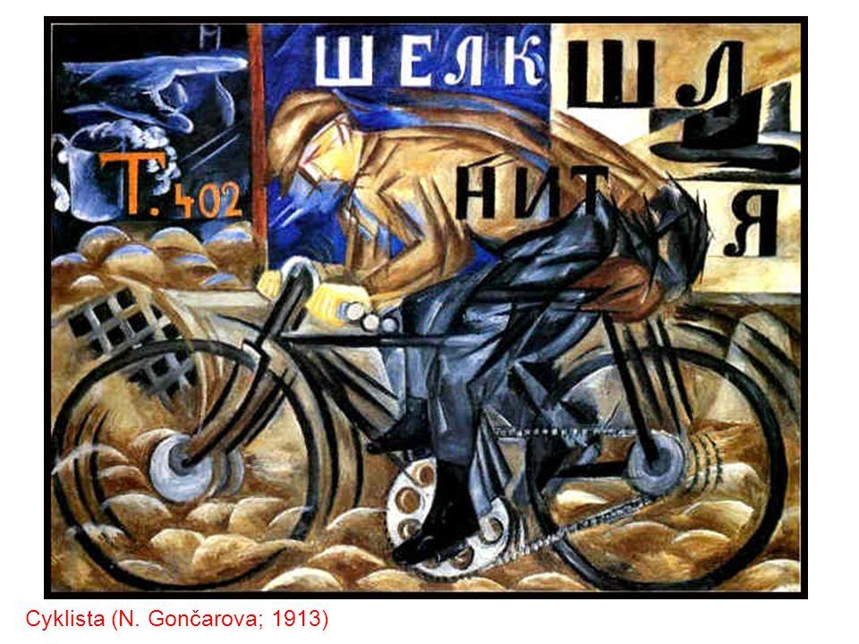 Cyklista (N. Gončarova; 1913)