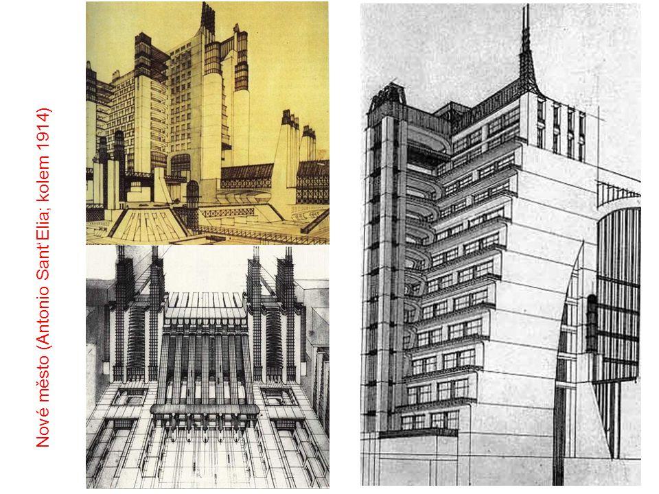 Nové město (Antonio Sant'Elia; kolem 1914)