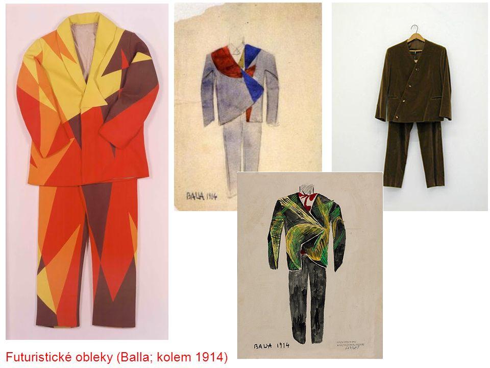 Futuristické obleky (Balla; kolem 1914)