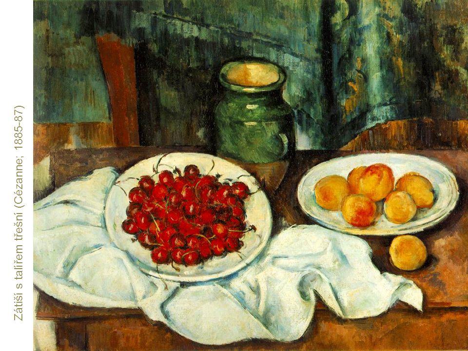 Zátiší s talířem třešní (Cézanne; 1885-87)