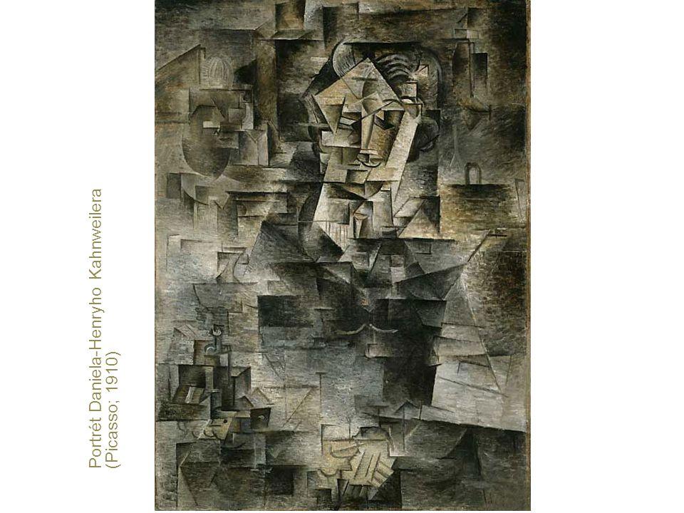 Portrét Daniela-Henryho Kahnweilera (Picasso; 1910)
