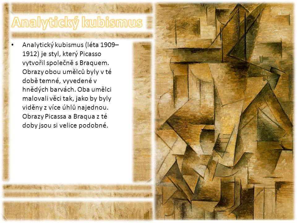 Analytický kubismus