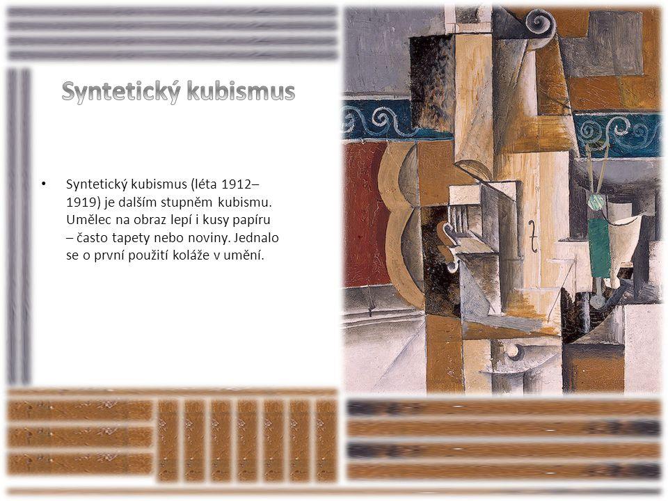 Syntetický kubismus