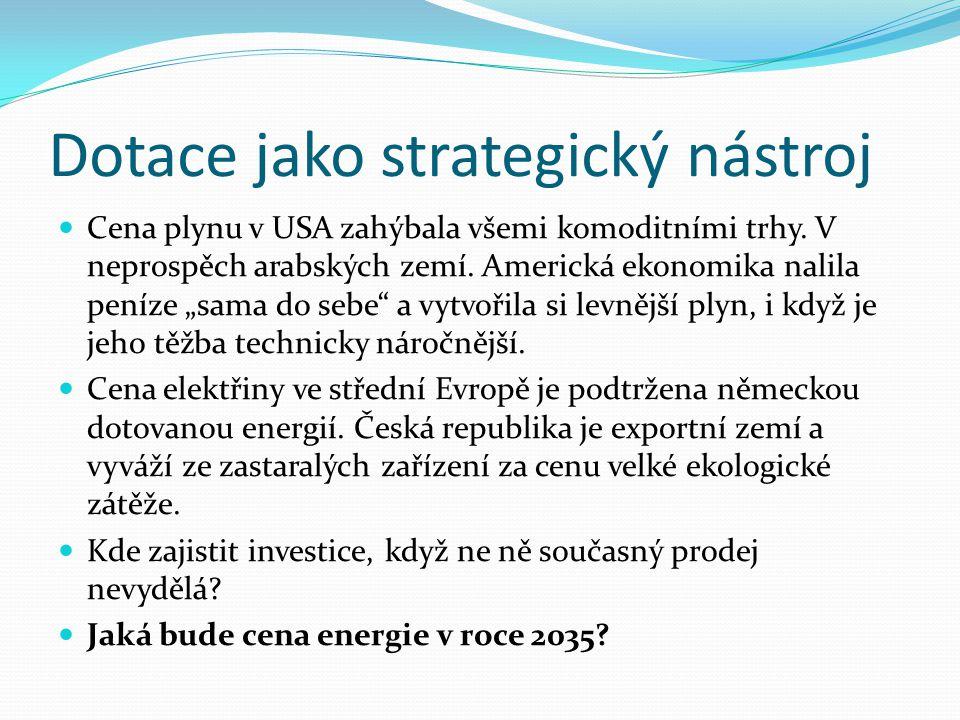 Dotace jako strategický nástroj