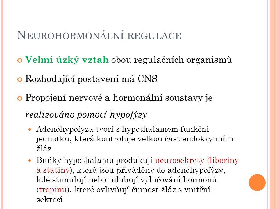 Neurohormonální regulace