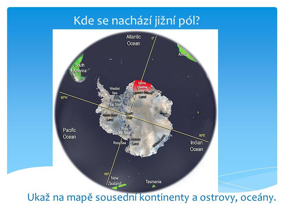 Kde se nachází jižní pól