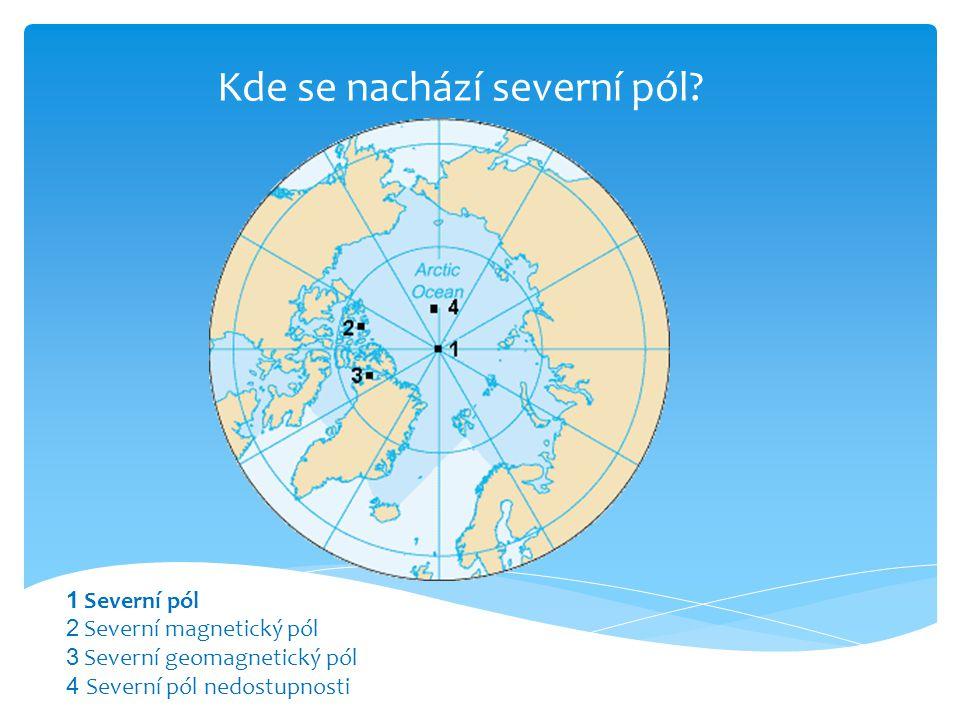 Kde se nachází severní pól