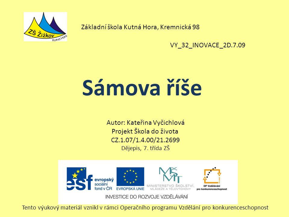 Sámova říše Základní škola Kutná Hora, Kremnická 98