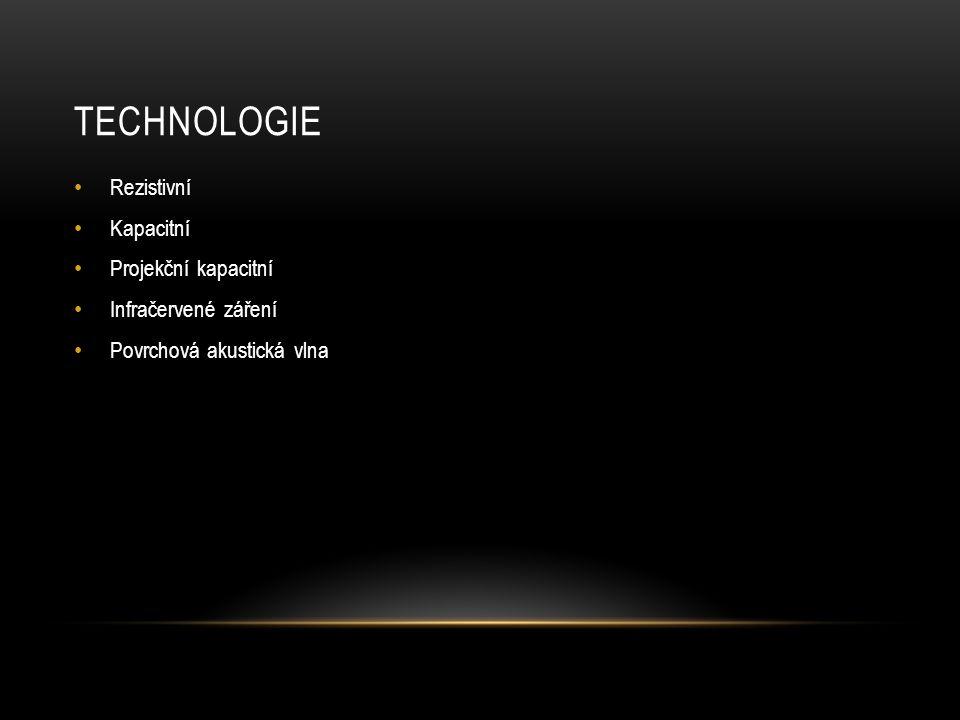 Technologie Rezistivní Kapacitní Projekční kapacitní