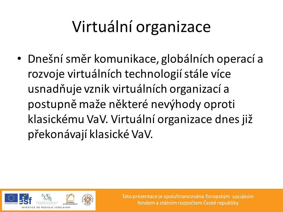 Virtuální organizace