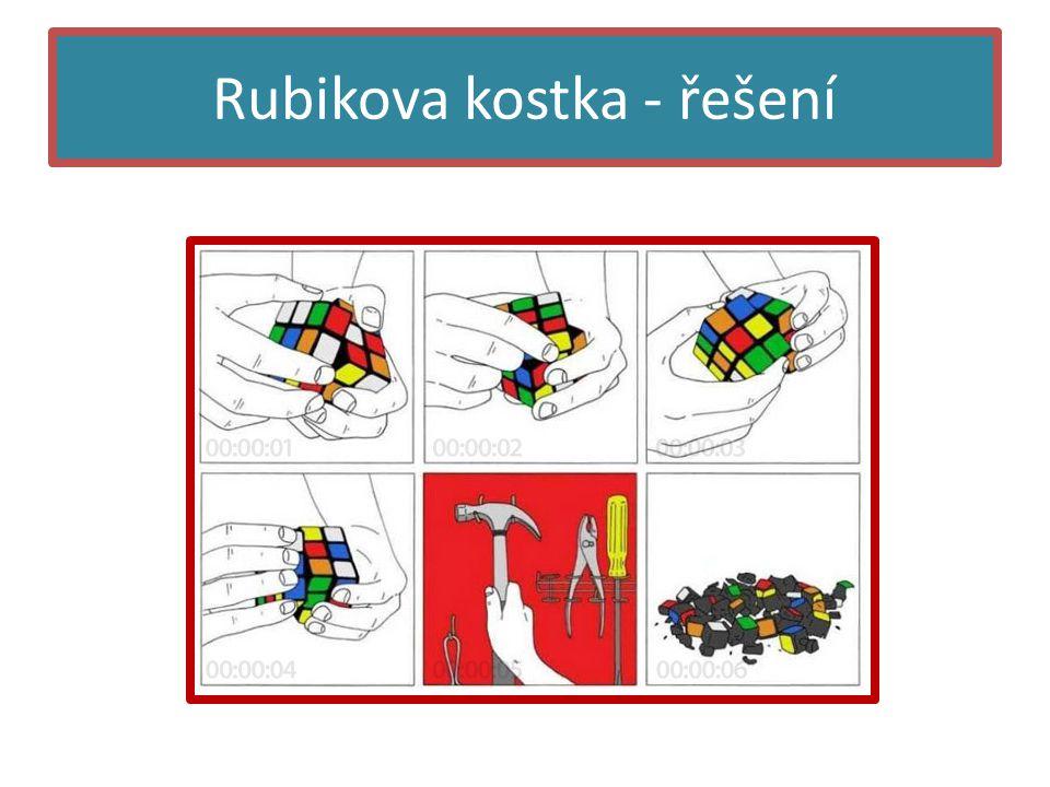 Rubikova kostka - řešení