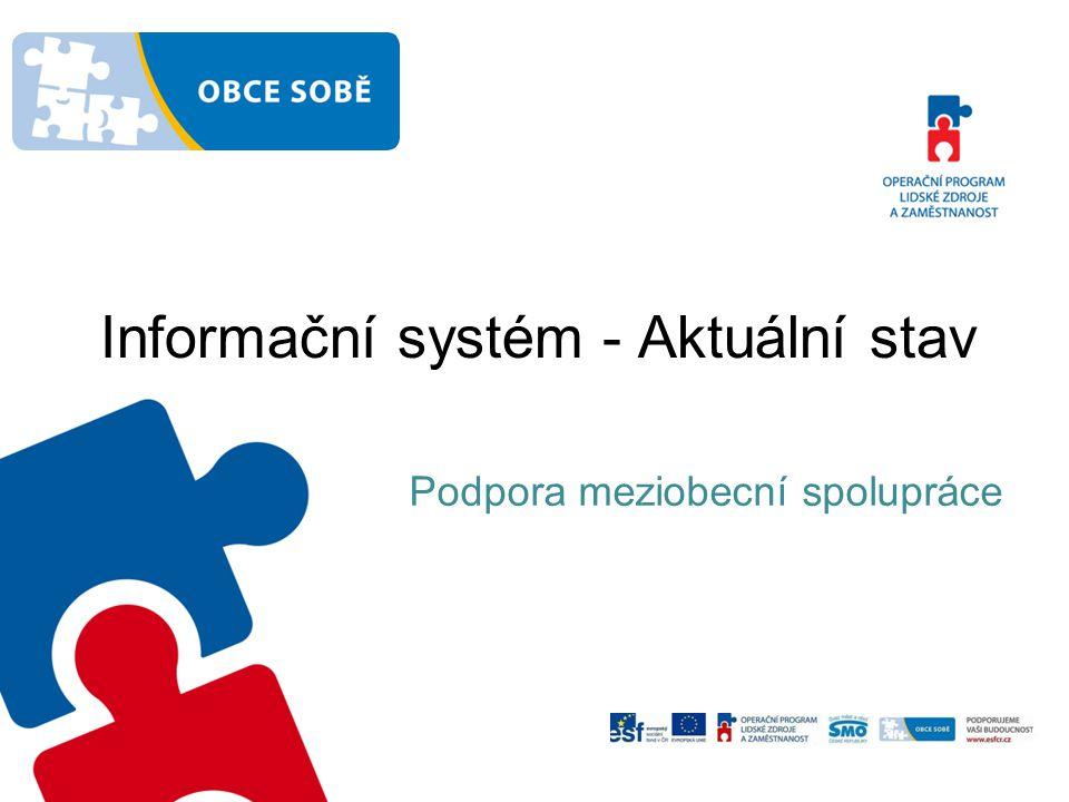 Informační systém - Aktuální stav